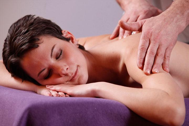 Massage-Anwendung