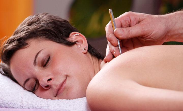 Akupunkt-Massage, Anwendung
